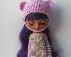 Set for Blythe helmet+sweater