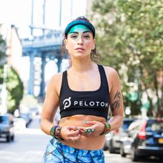 Beat the heat and keep the pace even while the next few months heat up. We checked in with Peloton Instructor and in-house running expert, Robin Arzon, to get her top tips for logging major mileage during the summer months. 1. Run with a few ice cubes wrapped in a bandana and tie it around your … Running Workouts, Running Tips, Robin Arzon, Gym Decor, Beat The Heat, Summer Months, Ice Cubes, Diet Tips, Bandana