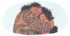 Moana and Maui ❤❤❤ They are perfect #moana #maui #disney