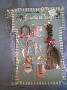 1967 Francie & Casey hairdo pack