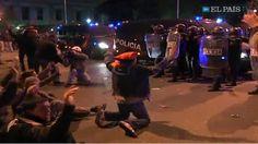 La UIP en nombre de Delegacion de Gobierno reventando manifestacion #EstoEs22M #AcampadaRecoletos