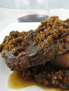 Autumn's In the Air ~ Braised Beef Shanks Braised Beef, Shank, Meat, Recipes, Food, Meal, Eten, Recipies, Meals