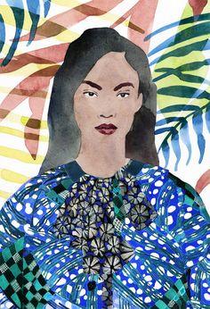 Trendy Mood | Coup de coeur : les illustrations de Marcel George | http://www.trendymood.com