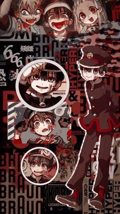 Discover the coolest Hanako Kun (Yugi Amane) Wallpaper Jibaku Shounen Hanako Kun/Toilet Bound Hanako Kun Wallpaper Animes, Cute Anime Wallpaper, Animes Wallpapers, Cute Wallpapers, Iphone Wallpaper, Wallpaper Roll, Otaku Anime, Art Anime, Manga Anime