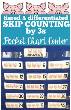 skip counting by 3s