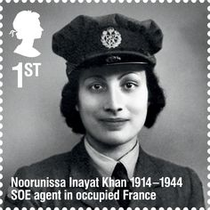 British Stamp - Remarkable Lives series of British Stamps - As an SOE (Special Operations Executive) agent during the Second World War, she became the first female radio operator to be sent from Britain into occupied France to aid the French Resistance. Great Women, Amazing Women, Gorgeous Women, Royal Mail Stamps, Brave, George Cross, Alec Guinness, History Magazine, Women In History