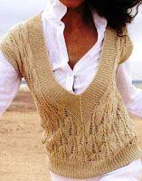 Die 22 Besten Bilder Von Stricken Pullunder Crochet Patterns