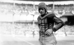 """The Galloping Ghost"" helped legitimize the fledgling NFL when George Halas signed him to a barnstorming tour after his legendary career at Illinois. He played seven seasons for Chicago and was a three-time all-NFL selection. ESPN named Grange the greatest college player of all time, and he was inducted into the NFL Hall of Fame in 1963"