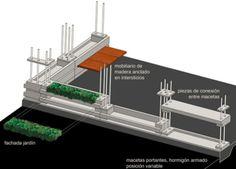 modular block house diagram
