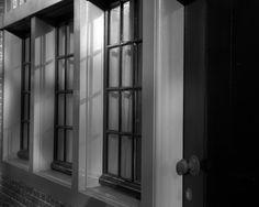 raam zwart / wit