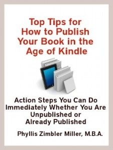 """""""5-Star Amazon Review for TOP TIPS FOR HOW TO PUBLISH YOUR BOOK IN THE AGE OF KINDLE"""""""