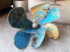 Steel Flower by HortNouveau on Etsy, $215.00