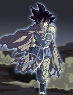 Fan art Black Goku by kakarotoo666