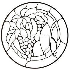 grapes round window