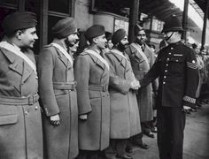 8 1940 A multi-national Royal Air Force  An unofficial welcome for the 24 Indian Air Force pilots arriving in Britain on 8th October 1940. Eight of them would die during training or on operations. - See more at: http://ww2today.com/