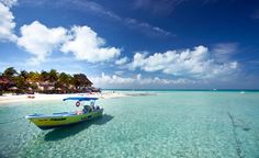 Cancun, Mexico. Cancun remains the No. 1 top destination for U.S. travel abroad, thanks to cheap flights from the States, 14 miles of beaches, and carnival-style nightlife. Isla Mujeres (pictured) is a tiny island off the coast of Cancun. It offers a quiet escape from the madness of the mainland.