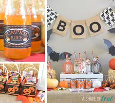 Pumpkin Patch Halloween Party + BOO kits! | A Shade Of Teal
