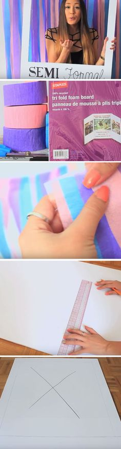 Polaroid Photo Booth | DIY Party Ideas for Teen Girls