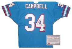 Sports Memorabilia   Autographed Sports Collectibles. Earl CampbellHouston  ... 0141c5ebc