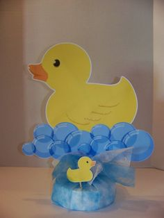 Baby shower centerpiece Boy or Girl - Double sided Duck Baby shower centerpiece Boy or Girl - Double sidedDuck Baby shower centerpiece Boy or Girl - Double sided Baby Shower Duck, Rubber Ducky Baby Shower, Baby Shower Signs, Baby Shower Invites For Girl, Baby Shower Favors, Baby Shower Cakes, Baby Shower Themes, Shower Ideas, Baby Shower Decorations For Boys