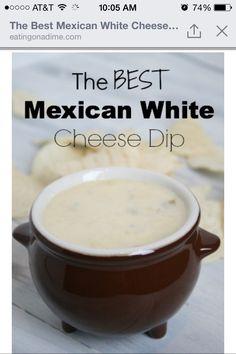Mexican white cheese dip