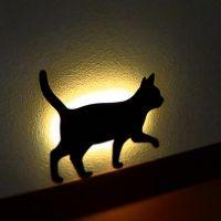 고양이실루엣 LED 월라이트 - 터벅터벅 ※ 예쁜 인테리어 조명,벽장식,벽등