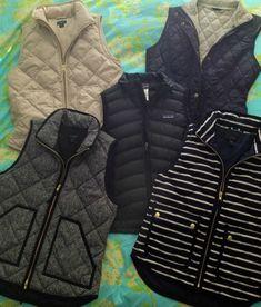 J Crew Herrington puff vest 2013  OMG I NEED THIS