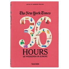 36 hours 24 weekends in Europe NY Times book. Great gift for a traveler. (Toss in a pair of plane tickets, ha.)