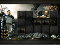 Forsaken Kingdom Online Slot Game - play now at www.europalace-casino.com Top Casino, Casino Sites, Best Casino, Casino Bonus, Online Casino, Miami Club, Up For The Challenge, Games To Play, Slot