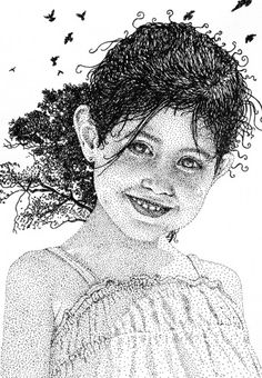 Illustrations by Pablo Jurado Ruiz Dotted Drawings, Ink Pen Drawings, Stippling Art, Chalk Art, Drawing Techniques, Line Art, Art Sketches, Painting & Drawing, Illustration Art