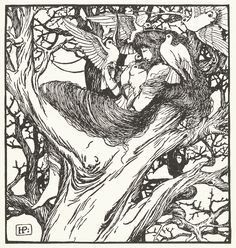 """The Wonder Clock"" written and illustrated by Howard Pyle, New York, 1892"