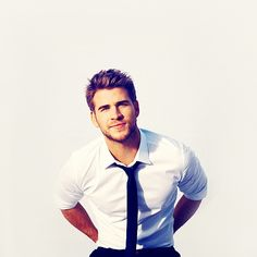 Liam Hemsworth. I'm in love
