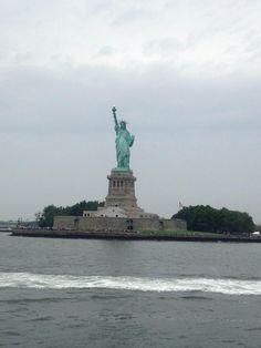 Mar en Estatua de la Libertad