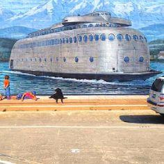 The Kalakala ferry served the Seattle to Bainbridge Island run from 1930 till 1967.