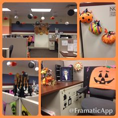 Halloween DIY office decorations that are HR approved