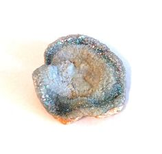 Large Aura angel chalcedony rosette druzy by TheLoveOfRocks
