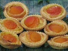 Tartelettes à l'abricot à la poudre d'amandes