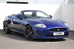 Used 2011 (11 reg) Spectrum Blue Jaguar XK 5.0 Supercharged V8 R 2dr Auto for sale on RAC Cars
