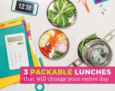 3 Packable Lunches That Will Change Your ENTIRE Day  - Photo by: Zach Desart http://www.womenshealthmag.com/nutrition/packable-lunches