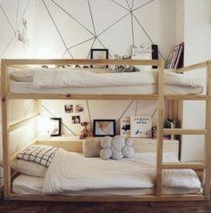 Ikea Kinderzimmer Bett Best Of 40 Cool Ikea Kura Bunk Bed Hacks Bunk Beds With Stairs, Cool Bunk Beds, Kids Bunk Beds, Big Girl Rooms, Boy Room, Kids Rooms, Room Kids, Small Rooms, Child Room