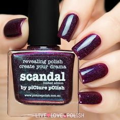 Picture Polish Scandal Nail Polish (Limited Edition Collection) - PRE- | Live Love Polish
