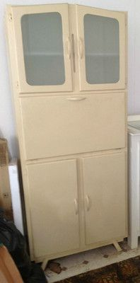 Kitchen Cabinets Vintage original vintage retro kitchen cabinet cupboard larder restored