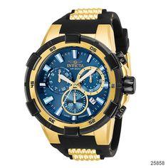9c276a81b Invicta Aviator XXL Chronographs Black Aviators, Stainless Steel Watch,  Casio Watch, Luxury Watches