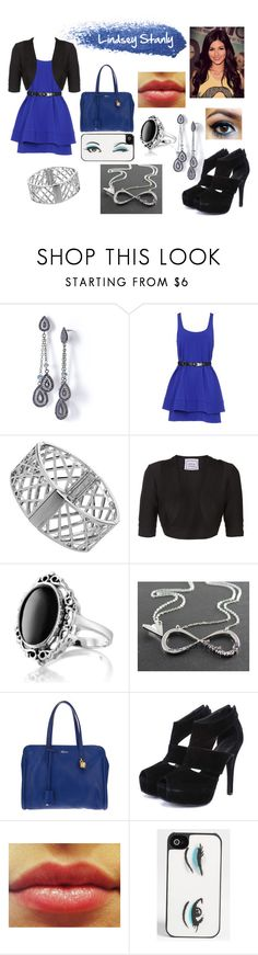 """""""Lindsey Stanly - 1º dia de aula"""" by luisauliana ❤ liked on Polyvore featuring Gee Beauty, Simply Vera, Proenza Schouler, Dorothy Perkins, Hervé Léger, Giani, Alexander McQueen and Kate Spade"""