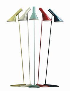 AJ Stehleuchte von Arne Jacobsen, Louis Poulsen, 1960 - Designermöbel von smow.de