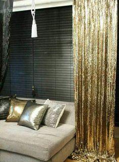 Sparkly decor