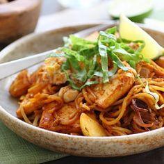 Mie Goreng Ayam (Kip). Indisch /  Asian food