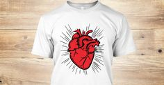 Red Heart The heart still beats LIMITED EDITION! Order yours before time runs out!Click but it now to pick your size and order!