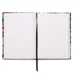 Floral aztec hand-stitched notebook