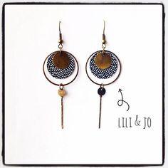 Cet article n'est pas disponible – Jewelry Paper Earrings, Diy Earrings, Polymer Clay Earrings, Earrings Handmade, Handmade Jewelry, Hoop Earrings, Clay Jewelry, Jewelry Crafts, Beaded Jewelry
